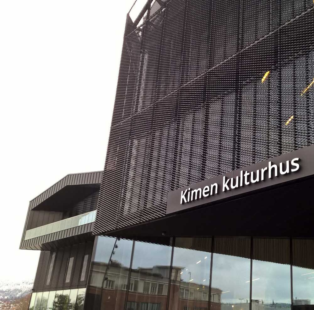 kimen kulturhus utendørs